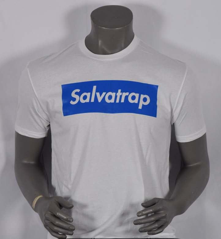 SALVATRAP TSHIRT WHITE/BLUE
